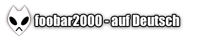 foobar2000 auf Deutsch